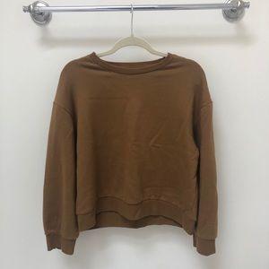 Zara khaki sweatshirt